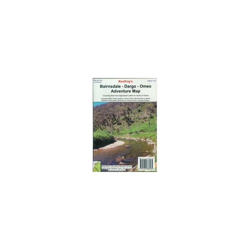 Big River - Rubicon - Woods Point Forest Activities Map