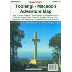Toolangi - Black Range Forest Activities Map